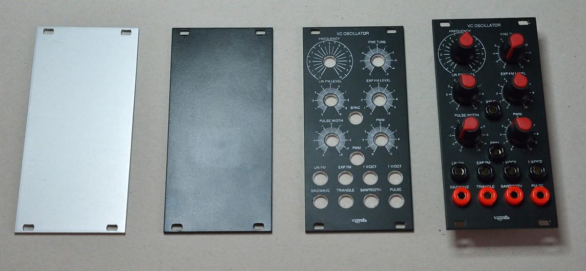 Frontplatten in vier Schritten