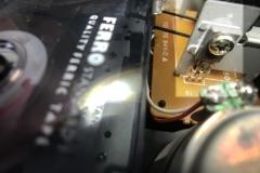 Defekter Transistor 2SB891 am Zählwerk